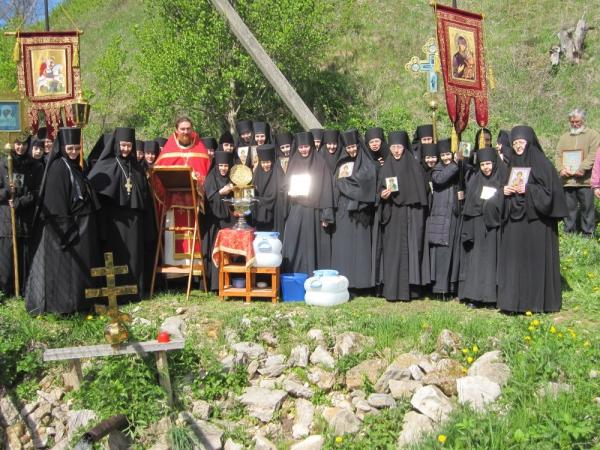 Молебен на праздник святого Георгия Победоносца