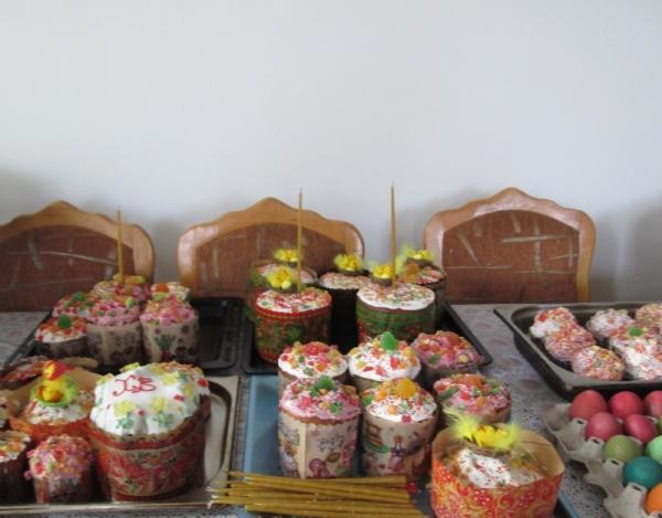 Куличи монастырские вкусные