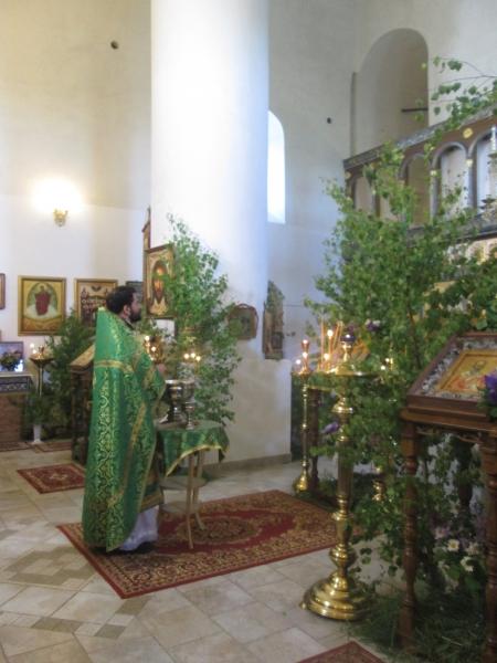 Праздник Святой Троицы в монастыре. 2017 год