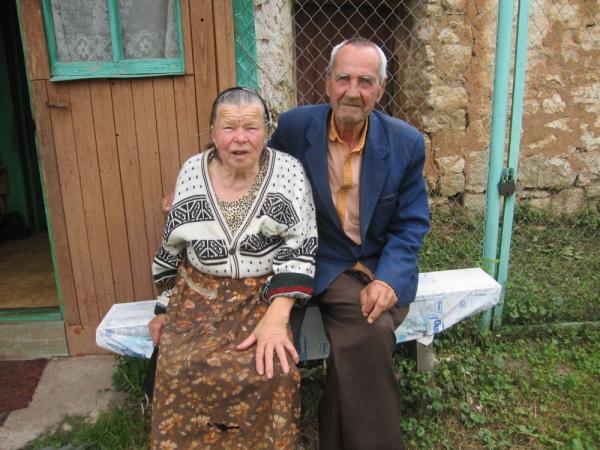 Иван да Марья, жители села Гремячево, вместе 60 лет