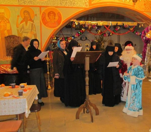 Рождественские песнопения и колядки для прихожан