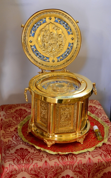 Частица мощей св.Георгия Победоносца