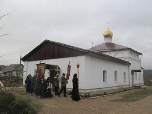 Крестный ход 16 ноября в день памяти св.вмч. Георгия Победоносца