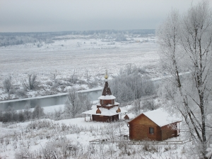 Зима в монастыре. 2018