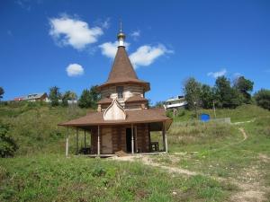 Купальня над источником святого Георгия Победоносца