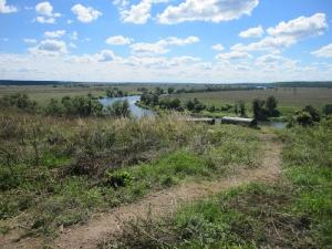 Дорога к реке от источника святого Георгия Победоносца
