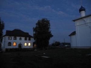 Крестный ход после всенощной на праздник Преображения Господне 18.08.2013