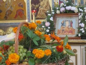 дары праздника Яблочный спас (народное название праздника Преображения)