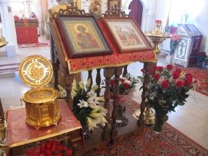 Литургия на праздник святого Георгия Победоносца