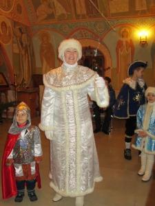 Рождество Христово в монастыре. Зима 2015