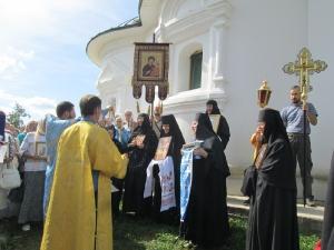 Праздник Успения Божией Матери в монастыре. 2015 год