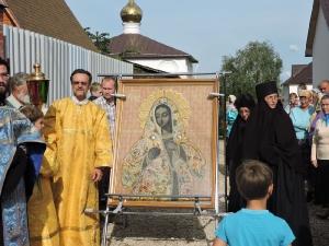 Крестный ход с иконой Божьей Матери Калужская. Июль 2015